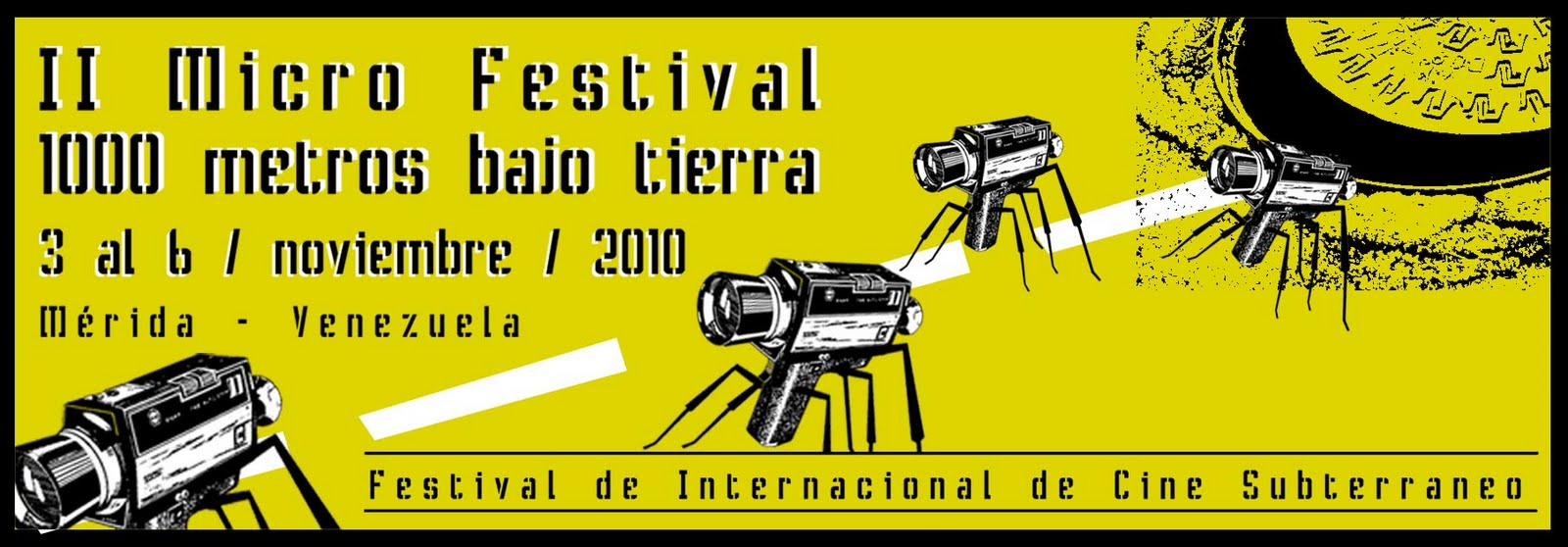 Convocatoria Festival 1000 metros bajo tierra 2010