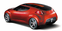 Veloster coupe concept