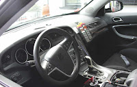 2010 Saab 9-4X Interior Spy Photo