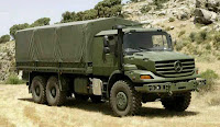 Mercedes-Benz Zetros Off-Truck Photo