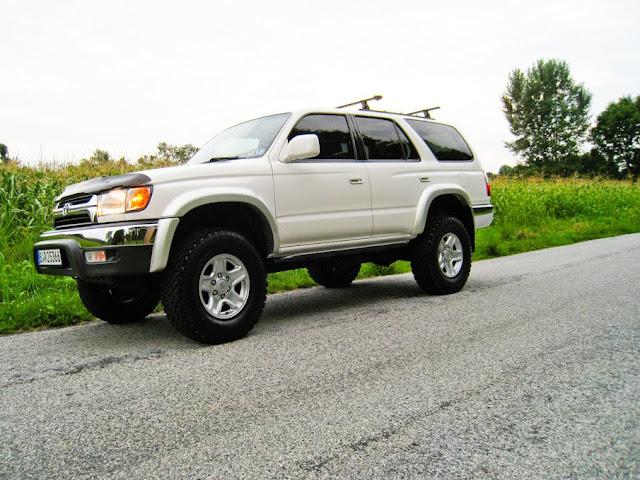 2002 Toyota 4runner Lift Tires Sliders