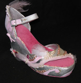IMG 9070 Shoe Design for Breast Cancer Awareness