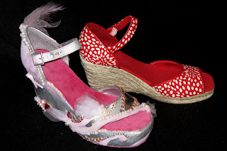IMG 9080 Shoe Design for Breast Cancer Awareness