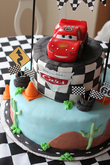 cars cake design. pixar cars cake design.