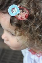 Babushka hair clip