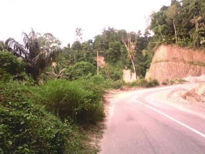 jalan pegunungan
