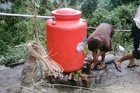 bak penampunagn air topesino