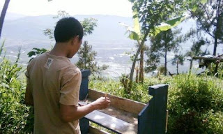 pemandangan lembah