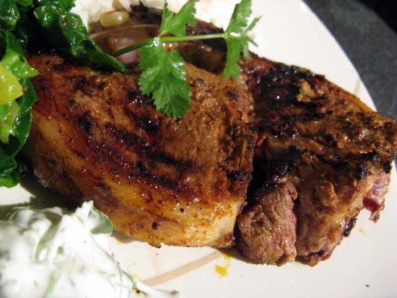 Hollow Legs: Indian-Spiced Lamb Chops