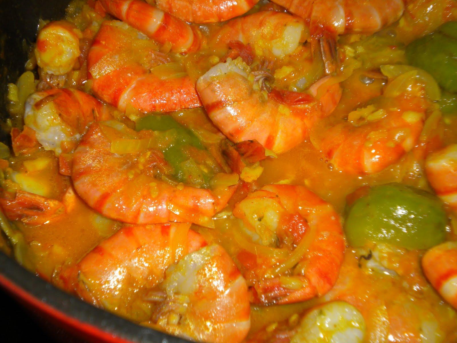 Cours de cuisine du monde sur marseille carry gambas - Cour de cuisine marseille ...