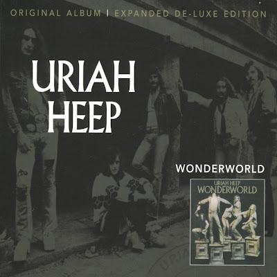 Uriah Heep ~ 1974 ~ Wonderworld deluxe