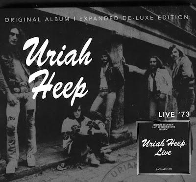 Uriah Heep ~ 1973 ~ Live deluxe