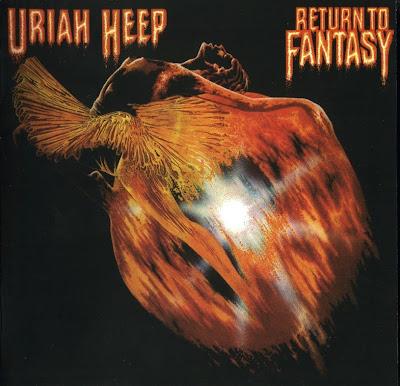 Uriah Heep ~ 1975 ~ Return To Fantasy original