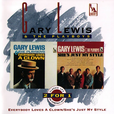 Gary Lewis & The Playboys ~ 1965 ~ Everybody Loves A Clown + 1966 ~ She's Just My Style