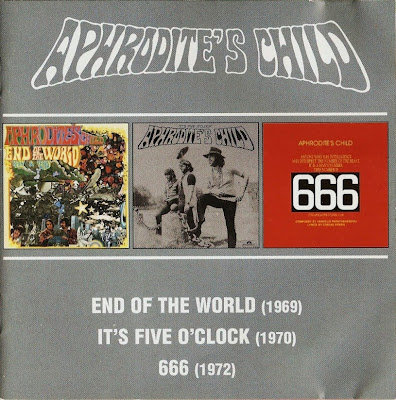 Aphrodite's Child ~ 1968 ~ End of the World + 1969 ~ It's Five O'clock + 1972 ~ 666