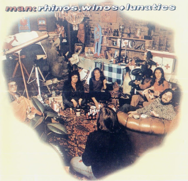 Man - 1974 - Rhinos, Winos and Lunatics
