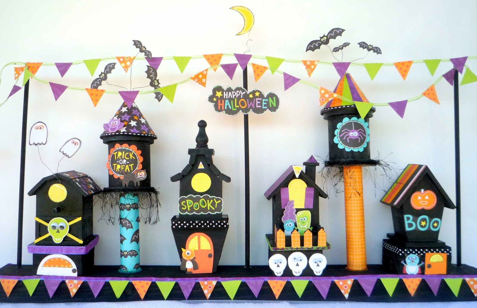 crafty sisters: haunted village