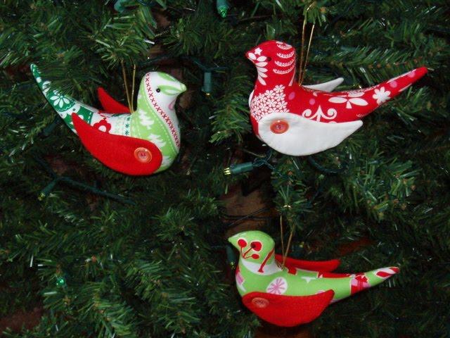 Christmas Tree Decorations Bird : Jody s crafty creations christmas tree decorations