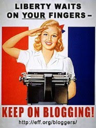 . : blog setting 1 : . let´s all keep on blogging to(words) a free world!! : .