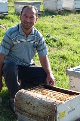 Ismail visar en bikupa