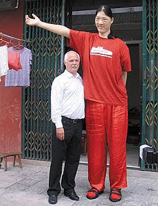 the tallest living woman