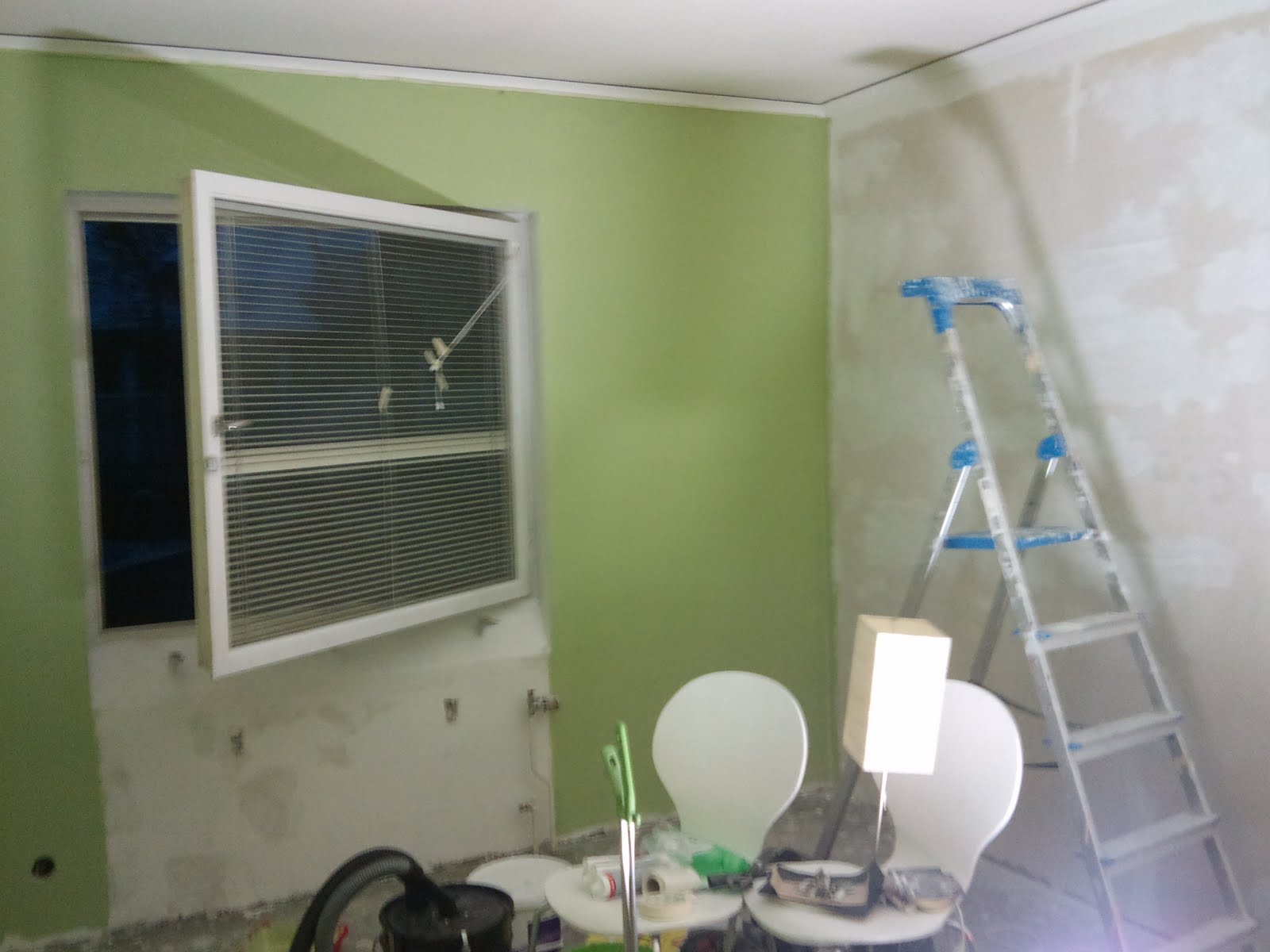 Om renoveringen av ett hus: maj 2010