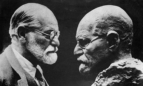 Sigmund Freud: famous for his theories of the unconscious mind. Photograph: Harlingue/Viollet/Rex Features