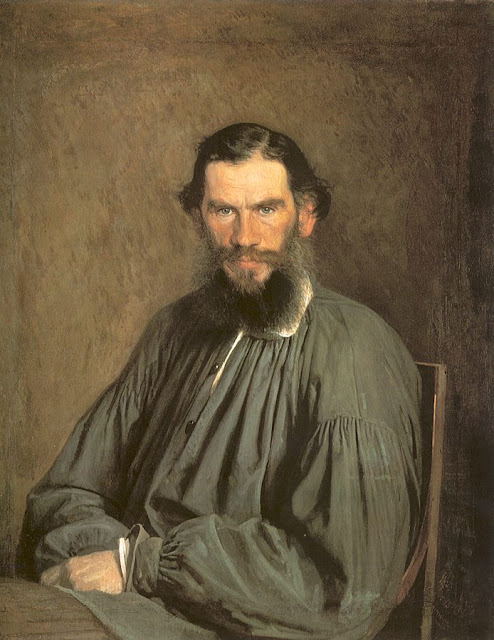 The Writer, Leo Tolstoy, 1873. The Tretyakov Gallery, Moscow