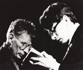Samuel Beckett and Pierre Chabert
