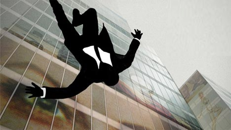Falling Man in Mad Men