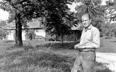 Thomas Bernhard. Photograph by Erika Schmied