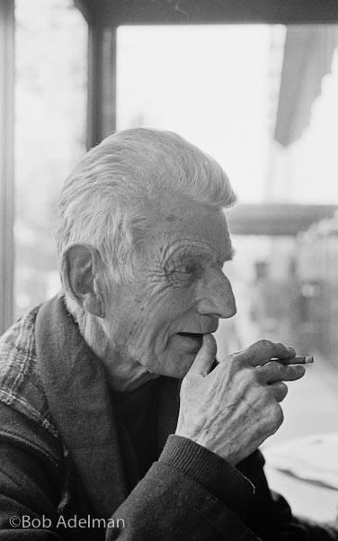 Samuel Beckett. Photograph: Bob Adelman.