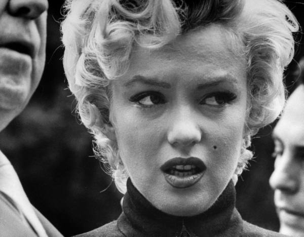 Marilyn Monroe in 1954, courtesy of Time Life and Google Images