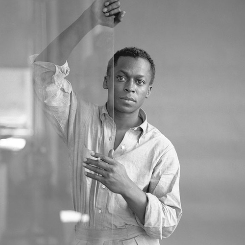 Miles Davis. Photograph taken by Tom Palumbo.