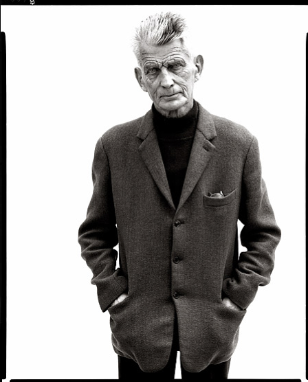 Samuel Beckett, writer, Paris, April 13, 1979. Portrait by Richard Avedon