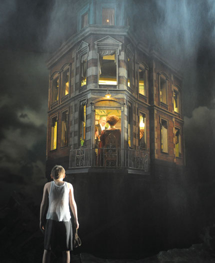 Stage design of J. B. Priestley's 'An Inspector Calls' (dir. Stephen Daldry)