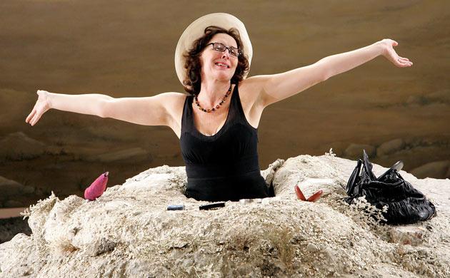Fiona Shaw as Winnie in 'Happy Days'