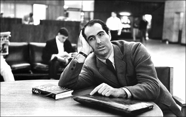 Philip Roth in 1964, two years after the publication of 'Letting Go.'