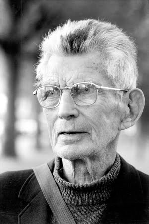 Samuel Beckett in the 1980s