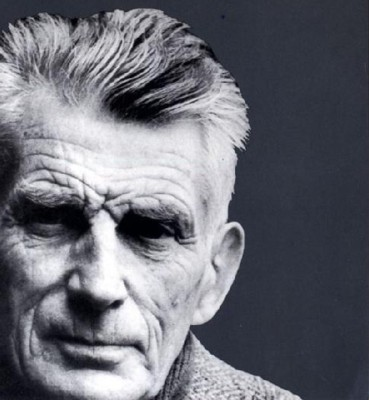 Detail from earlier Faber edition of Samuel Beckett, 'The Complete Dramatic Works'