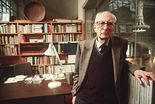 Anthropologist Claude Lévi-Strauss