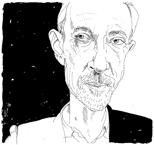 Illustration of J. M. Coetzee by Joe Ciardiello