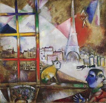 París a través de la ventana, 1913
