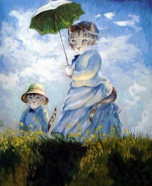 Susan Herbert, Monet