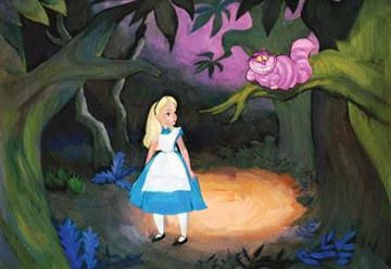 Disney, Alicia y el gato de Cheshire