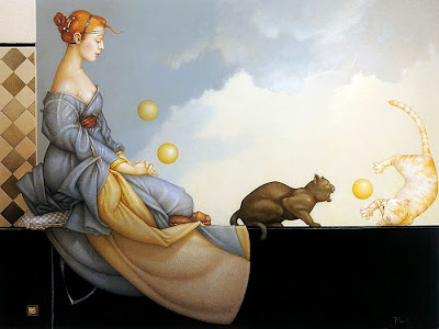 Michael Parkes, Cat's meditation