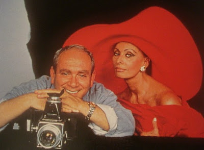 Angelo Frontoni y Sofía Loren