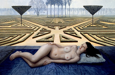 Mike Worrall_Nude in landscape