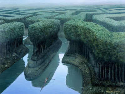 Mike Worrall Sculling the forest