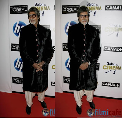 Amitabh Bachchan Salon du Cinema Paris